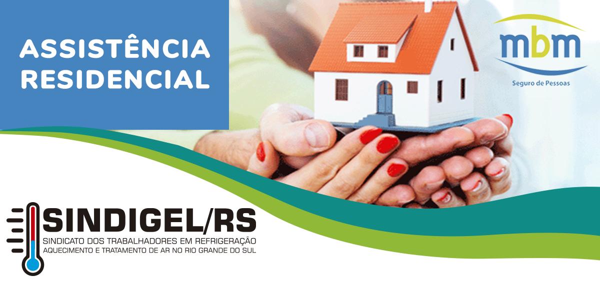 5aae04c74 Trabalhadores parceiros do SINDIGEL/RS agora têm direito a Seguro  Residencial